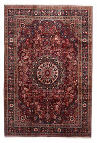 Moud Matto 195X290 Itämainen Käsinsolmittu Tummanpunainen/Tummanruskea (Villa/Silkki, Persia/Iran)