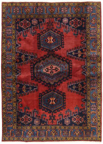 Wiss Patina Matto 173X239 Itämainen Käsinsolmittu Tummanpunainen/Musta (Villa, Persia/Iran)