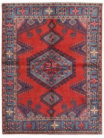 Wiss Matto 156X205 Itämainen Käsinsolmittu Tummanvioletti/Ruoste (Villa, Persia/Iran)