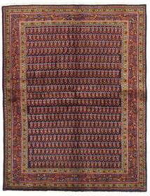 Wiss Matto 159X206 Itämainen Käsinsolmittu Tummanpunainen/Tummansininen (Villa, Persia/Iran)