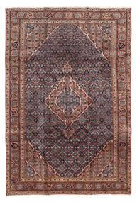 Ardebil Matto 197X290 Itämainen Käsinsolmittu Tummanruskea/Tummanpunainen/Ruskea (Villa, Persia/Iran)