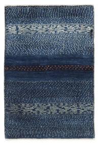 Gabbeh Persia Matto 63X94 Moderni Käsinsolmittu Tummansininen/Sininen (Villa, Persia/Iran)