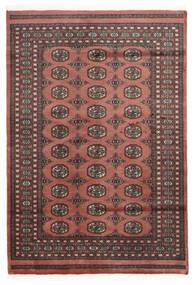 Pakistan Bokhara 2Ply Matto 137X200 Itämainen Käsinsolmittu Tummanpunainen/Ruoste (Villa, Pakistan)