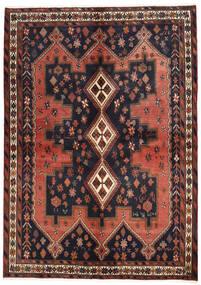 Afshar Matto 160X225 Itämainen Käsinsolmittu Tummanharmaa/Tummanpunainen (Villa, Persia/Iran)