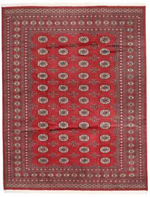 Pakistan Bokhara 2Ply Matto 198X252 Itämainen Käsinsolmittu Punainen/Tummanpunainen (Villa, Pakistan)