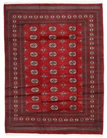 Pakistan Bokhara 2Ply Matto 201X258 Itämainen Käsinsolmittu Tummanpunainen/Punainen (Villa, Pakistan)
