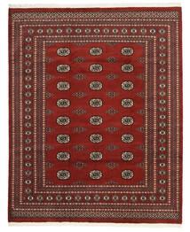 Pakistan Bokhara 2Ply Matto 201X251 Itämainen Käsinsolmittu Tummanpunainen/Tummanruskea (Villa, Pakistan)