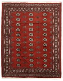 Pakistan Bokhara 2Ply Matto 199X248 Itämainen Käsinsolmittu Ruoste/Tummanruskea/Tummanpunainen (Villa, Pakistan)