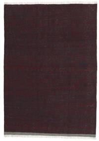 Kelim Matto 101X146 Itämainen Käsinkudottu Tummanpunainen/Tummanruskea (Villa, Persia/Iran)