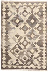 Kelim Matto 103X148 Itämainen Käsinkudottu Beige/Vaaleanharmaa (Villa, Persia/Iran)