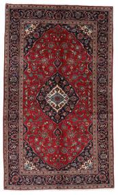 Keshan Matto 148X248 Itämainen Käsinsolmittu Tummanpunainen/Tummanharmaa (Villa, Persia/Iran)