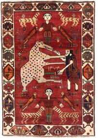 Ghashghai Matto 120X172 Itämainen Käsinsolmittu Tummanpunainen/Tummanruskea (Villa, Persia/Iran)