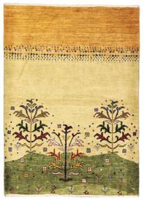 Gabbeh Persia Matto 83X117 Moderni Käsinsolmittu Tummanbeige/Vaaleanruskea (Villa, Persia/Iran)