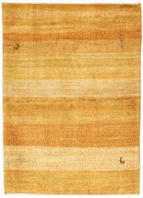 Gabbeh Persia Matto 103X148 Moderni Käsinsolmittu Vaaleanruskea/Keltainen (Villa, Persia/Iran)