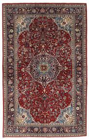Sarough Matto 133X214 Itämainen Käsinsolmittu Tummanpunainen/Ruskea (Villa, Persia/Iran)
