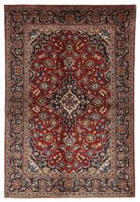 Keshan Matto 140X210 Itämainen Käsinsolmittu Tummanpunainen/Musta (Villa, Persia/Iran)