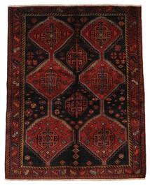 Lori Matto 158X196 Itämainen Käsinsolmittu Tummanruskea/Tummanpunainen (Villa, Persia/Iran)
