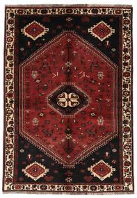 Ghashghai Matto 150X216 Itämainen Käsinsolmittu Tummanpunainen/Tummanruskea (Villa, Persia/Iran)