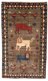 Ghashghai Matto 132X227 Itämainen Käsinsolmittu Ruskea/Musta (Villa, Persia/Iran)