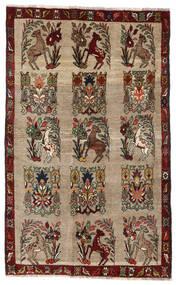 Ghashghai Matto 130X210 Itämainen Käsinsolmittu Vaaleanharmaa/Tummanruskea (Villa, Persia/Iran)