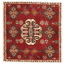 Ghashghai Matto 58X60 Itämainen Käsinsolmittu Neliö Tummanpunainen/Ruoste (Villa, Persia/Iran)
