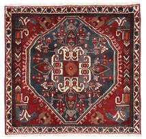 Ghashghai Matto 62X64 Itämainen Käsinsolmittu Neliö Tummanpunainen/Musta (Villa, Persia/Iran)
