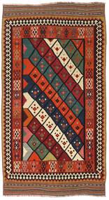 Kelim Vintage Matto 150X282 Itämainen Käsinkudottu Tummanpunainen/Ruoste (Villa, Persia/Iran)