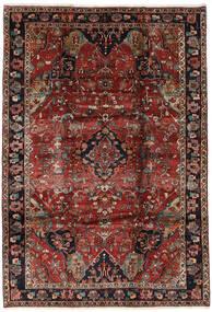 Bakhtiar Matto 221X318 Itämainen Käsinsolmittu Tummanpunainen/Musta (Villa, Persia/Iran)