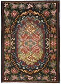 Ruusukelim Moldavia Matto 209X292 Itämainen Käsinkudottu Tummanharmaa/Tummanruskea (Villa, Moldova)