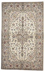 Keshan Matto 136X222 Itämainen Käsinsolmittu Vaaleanharmaa/Beige (Villa, Persia/Iran)