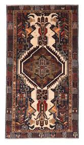 Beluch Matto 110X205 Itämainen Käsinsolmittu Tummanruskea/Tummanpunainen (Villa, Afganistan)