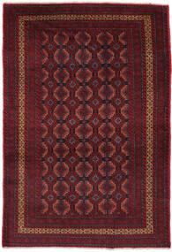 Beluch Matto 114X180 Itämainen Käsinsolmittu Tummanpunainen/Musta (Villa, Afganistan)