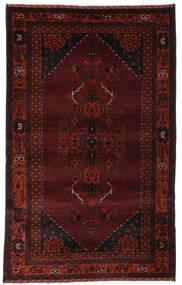 Beluch Matto 128X207 Itämainen Käsinsolmittu Musta (Villa, Afganistan)