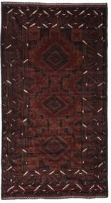 Beluch Matto 136X250 Itämainen Käsinsolmittu Musta (Villa, Afganistan)