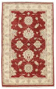 Ziegler Matto 90X145 Itämainen Käsinsolmittu Beige/Tummanpunainen (Villa, Pakistan)