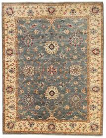 Ziegler Ariana Matto 152X199 Itämainen Käsinsolmittu Tummanbeige/Tummanharmaa (Villa, Afganistan)