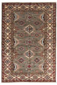 Kazak Ariana Matto 167X242 Moderni Käsinsolmittu Tummanruskea/Vaaleanruskea (Villa, Afganistan)