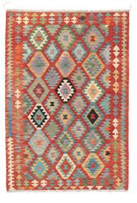 Kelim Afghan Old Style Matto 122X178 Itämainen Käsinkudottu Ruoste (Villa, Afganistan)