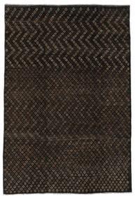Moroccan Berber - Afghanistan Matto 197X285 Moderni Käsinsolmittu Musta (Villa, Afganistan)