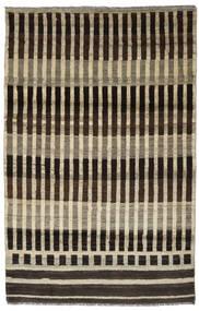 Moroccan Berber - Afghanistan Matto 116X181 Moderni Käsinsolmittu Tummanruskea/Vaaleanruskea (Villa, Afganistan)