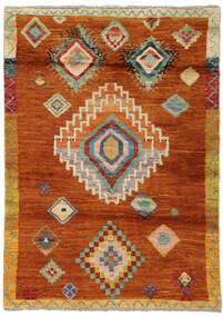 Moroccan Berber - Afghanistan Matto 116X163 Moderni Käsinsolmittu Punainen/Oranssi (Villa, Afganistan)
