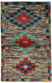 Moroccan Berber - Afghanistan Matto 90X142 Moderni Käsinsolmittu Oliivinvihreä/Tummanpunainen (Villa, Afganistan)