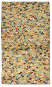 Moroccan Berber - Afghanistan Matto 83X146 Moderni Käsinsolmittu Vaaleanvihreä/Tummanbeige (Villa, Afganistan)