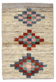 Moroccan Berber - Afghanistan Matto 81X116 Moderni Käsinsolmittu Vaaleanruskea/Vaaleanvihreä (Villa, Afganistan)