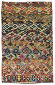 Moroccan Berber - Afghanistan Matto 117X182 Moderni Käsinsolmittu Tummanharmaa/Vaaleanharmaa (Villa, Afganistan)
