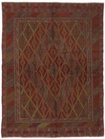 Kelim Golbarjasta Matto 146X192 Itämainen Käsinkudottu Musta (Villa, Afganistan)