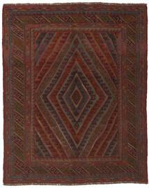 Kelim Golbarjasta Matto 150X185 Itämainen Käsinkudottu Musta (Villa, Afganistan)