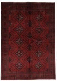 Afghan Khal Mohammadi Matto 168X238 Itämainen Käsinsolmittu Musta (Villa, Afganistan)