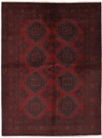 Afghan Khal Mohammadi Matto 172X230 Itämainen Käsinsolmittu Musta (Villa, Afganistan)