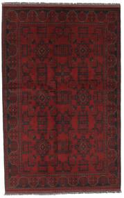 Afghan Khal Mohammadi Matto 126X197 Itämainen Käsinsolmittu Musta (Villa, Afganistan)